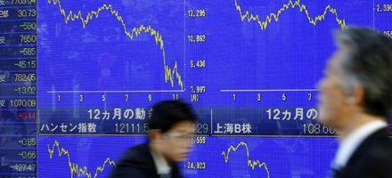 Fuertes caídas en bolsas de Europa y Asia siguen al derrumbe de Wall Street