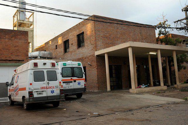Sin vida. Cevillán llegó al Hospital Gamen sin signos vitales.