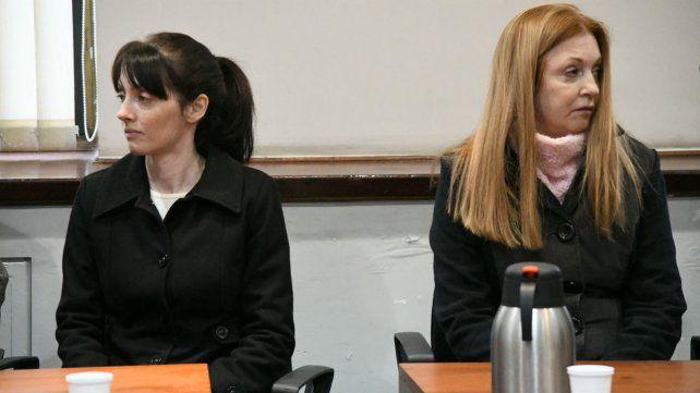 Virginia Seguer y Alicia Fernández