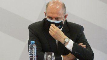 El gobernador de la provincia, Omar Perotti, se refirió a la posibilidad de restringir actividades.