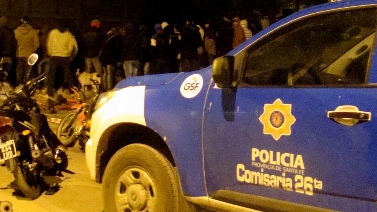 El caso ocurrió en jurisdicción de la seccional 26ª de Villa G. Gálvez. (Foto: PeriódicoTodos.com)