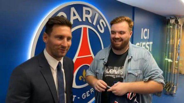 Lionel Messi fue entrevistado por el streamer español Ibai Llanos.