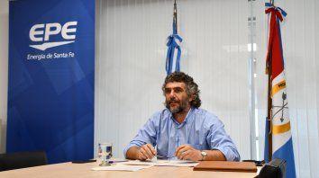 El Presidente de la EPE, Mauricio Caussi