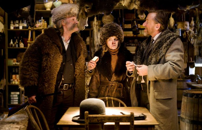 Escena de la película en la que Tarantino volvió recargado.