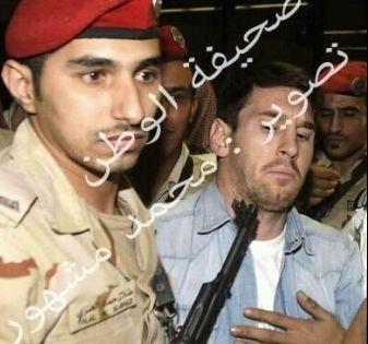 Messi llegó a Arabia Saudita con la selección en medio de gran despliegue de seguridad