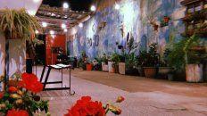 El florido y colorido patio del Espacio Bravo hospedará a los artistas y a los espectadores en enero y febrero.