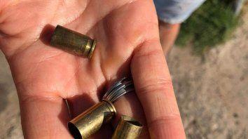 Balas y más balas.El intendente Javkin destacó que se debe profundizar el trabajo conjunto para identificar las armas que se gatillan en la ciudad.