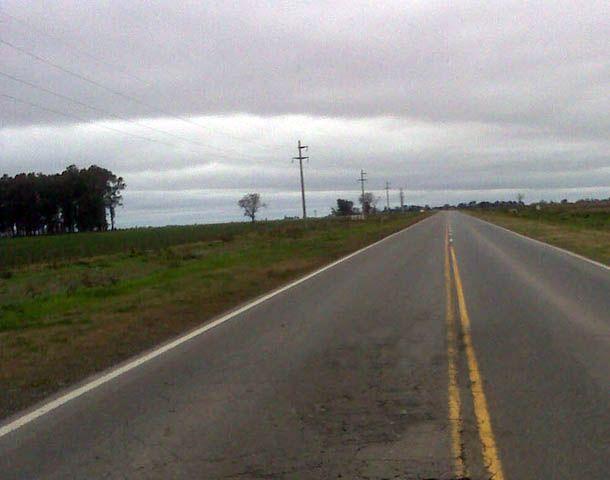 El bólido provocó conmoción en la zona de Cañada de Gómez y alrededores.