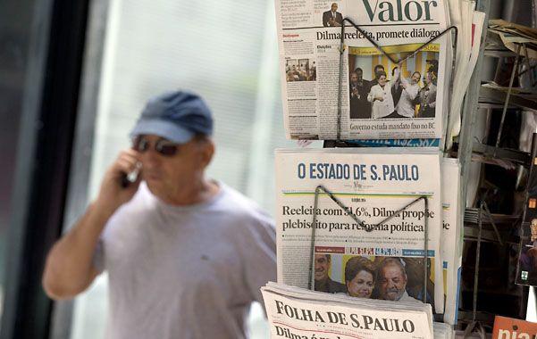 Día siguiente. Los diarios paulistas reflejaron el resultado electoral.