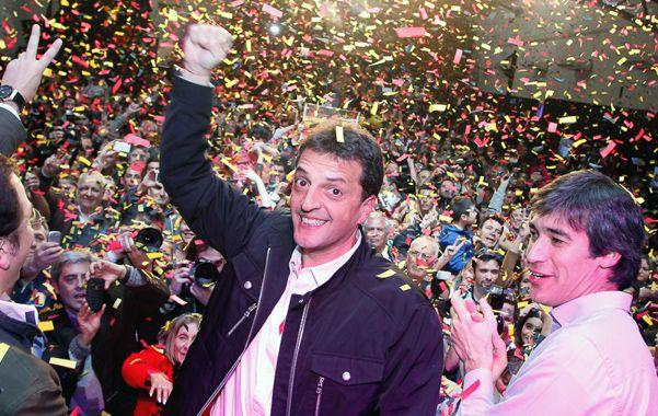 El gran vencedor. Massa superó a Insaurralde y tomó protagonismo nacional.