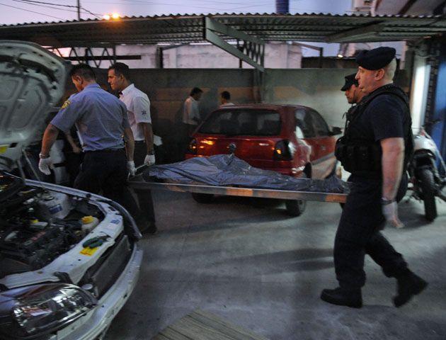 El violento episodio ocurrió en un negocio de la zona oeste de la ciudad. (Foto: H. Rio)