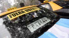 Los taxistas realizaron varias marchas para protestar por el posible desembarco de Uber.