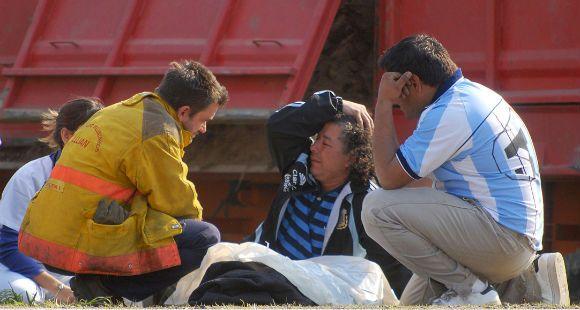 Tres chicos de un club de fútbol murieron en un choque múltiple en la ruta 7, cerca de Luján