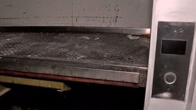 La mujer se lesionó cuando bajaba del primer piso en el Sanatorio Güemes.