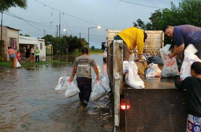 Más de 140 milímetros cayeron en pocas horas en Venado Tuerto el jueves pasado