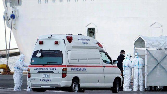 Un argentino contrajo coronavirus en el crucero varado en Japón