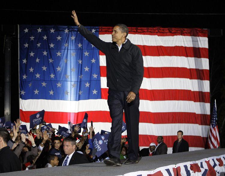 Obama es el nuevo presidente de Estados Unidos
