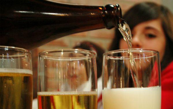 sin control. Los jóvenes se inician muy pequeños en la ingesta de alcohol.