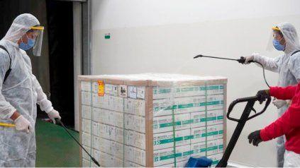 La próxima semana llegan más dosis de Sinopharm y Argentina se acerca a los 10 millones vacunas