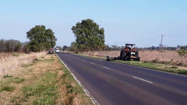 Las tareas a cargo de Vialidad proseguirán hasta llegar al límite provincial.