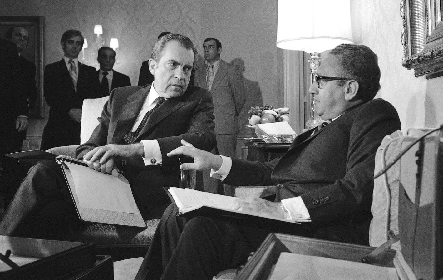 Guerra Fría. Como secretario de Estado de Nixon