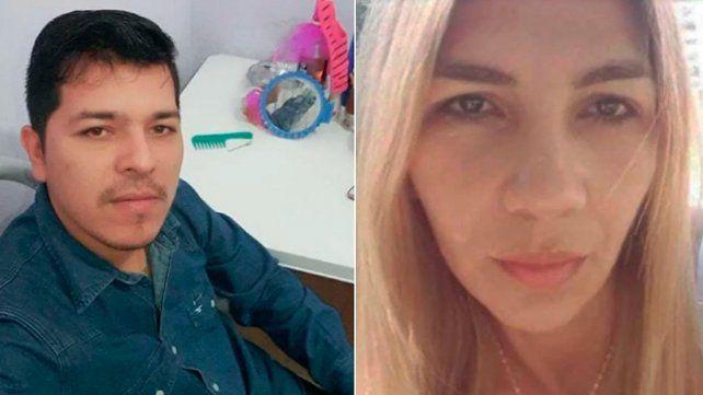 Victimario y víctima. Waldo Servián Riquelme y Liliana González.