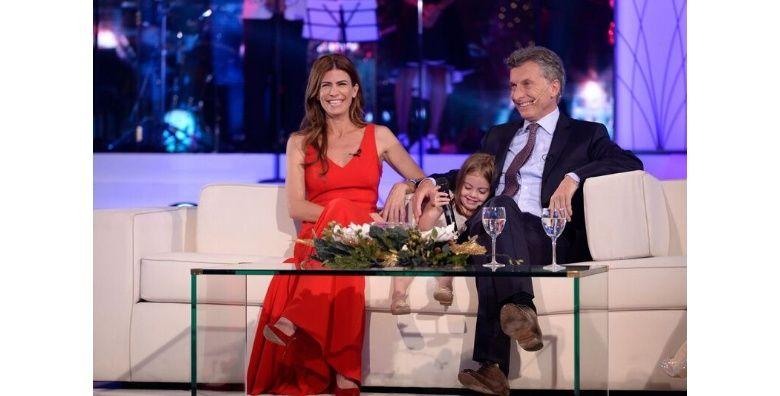 Macri estuvo como invitado especial en el living de Susana.