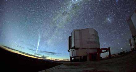 Córdoba polemiza por el paso del cometa Lovejoy en la madrugada