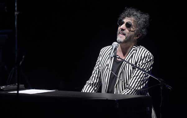 Y dale alegría a mi corazón. Fito Páez cantó a viva voz sus hits inolvidables