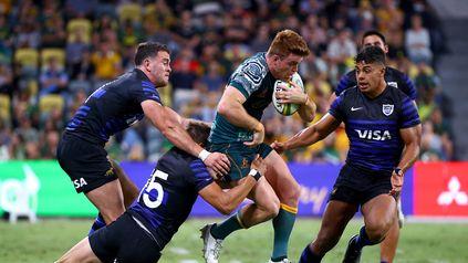 Los Pumas perdieron con los Wallabies en la penúltima fecha del Rugby Championship 2021
