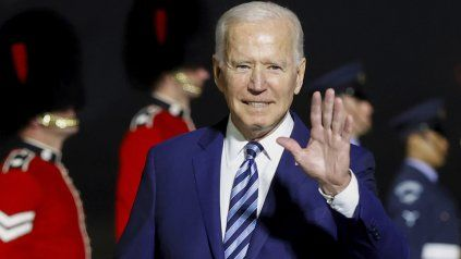 El presidente de EEUU, Joe Biden, arribó a Inglaterra para participar de la Cumbre del G-7.