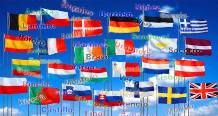 La globalización y los apellidos en Europa: ¡qué problemón!
