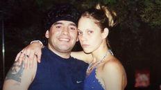 La novia cubana. Maradona junto a Mavys Álvarez, quien mantuvo una relación en la estadía del Diez en Cuba.