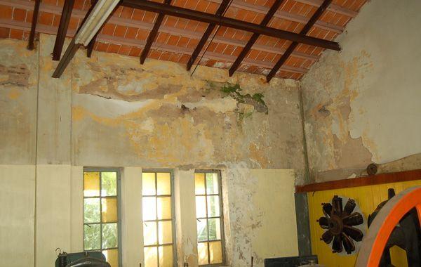 Los techos en mal estado