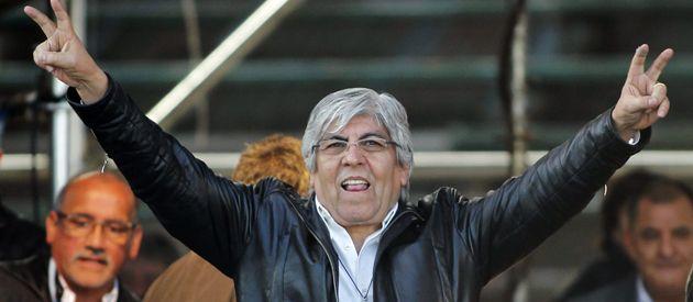 Hugo Moyano acentúa cada día su perfil de opositor al gobierno.