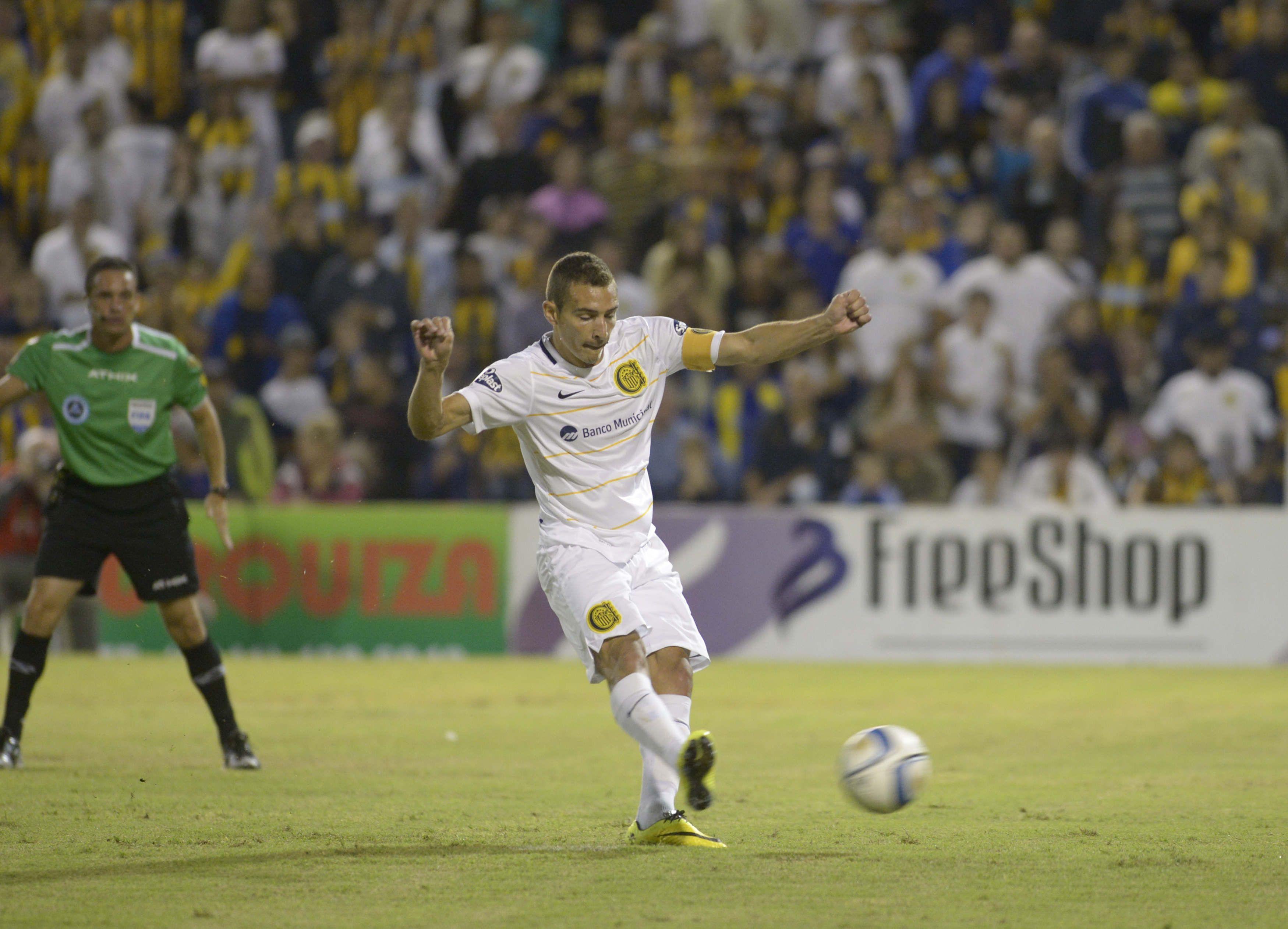 Marco Ruben sería el único punta para el partido de mañana en San Juan.