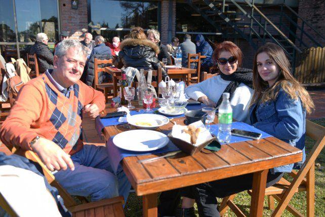 Hugo Fornells, Marina Guarda y Nuria Fornells
