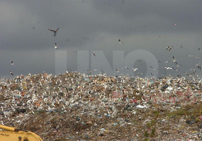 potencial. El gas de la descomposición de residuos