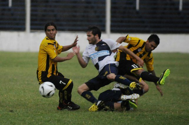 En el 2013. En el Ivancich de aquel año Central empató en el adicional y ganó por penales. En el aurinegro ya jugaba Ojeda (7).