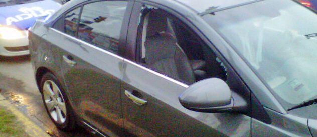 La intendenta fue asaltada el 4 de septiembre. Los ladrones rompieron el vidrio y se llevaron la cartera.
