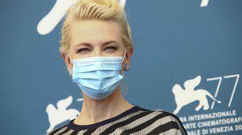 Cate Blanchett, presidenta del jurado, dijo que estaba honrada de ser parte de un festival que está ayudando a la industria a resurgir de un cierre económica y artísticamente devastador.