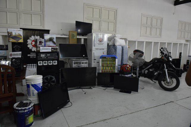 Gran cantidad de bienes fueron secuestrados el miércoles en la causa Dimare SRL.