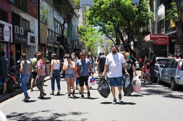 Los comerciantes de calle San Luis cerraron el 2020 con una caída del 20 por ciento en las ventas