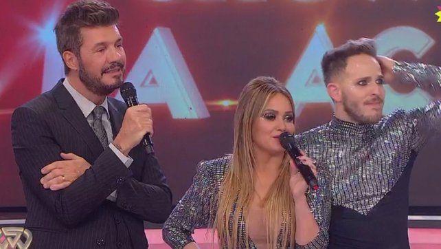 Pulgar para abajo. De Brito y Jimena Barón criticaron su performance y Karina se defendió.