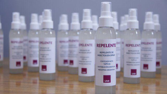 Las dosis de repelente cpntra el dengue serán entregados a los sectores más vulnerables de la población.