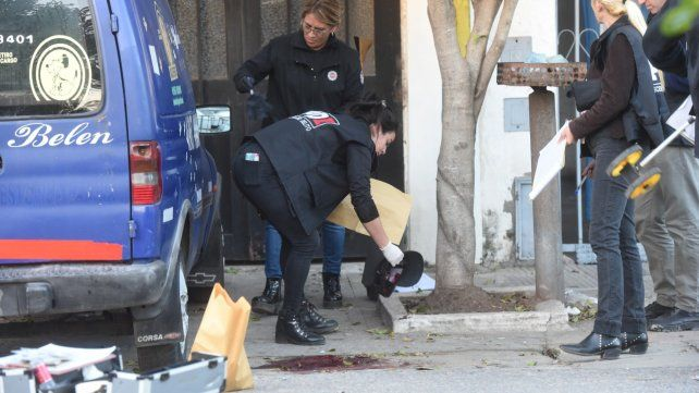 Escena. El doble homicidio se perpetró la tarde del miércoles pasado.