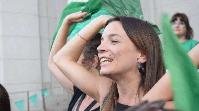 La diputada provincial justicialista Lucila De Ponti.