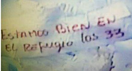 Chile: primeras imágenes de los 33 mineros atrapados desde hace 17 días