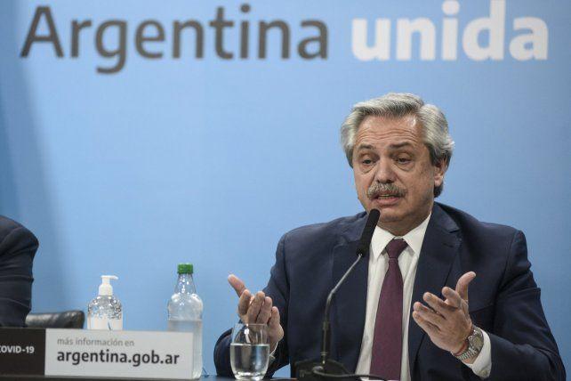 El presidente Alberto Fernández dijo que la decisión de intervenir Vicentín fue suya.