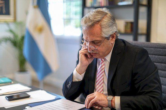 El jefe del Estado aseguró que no hay tensiones en el espacio oficialista.